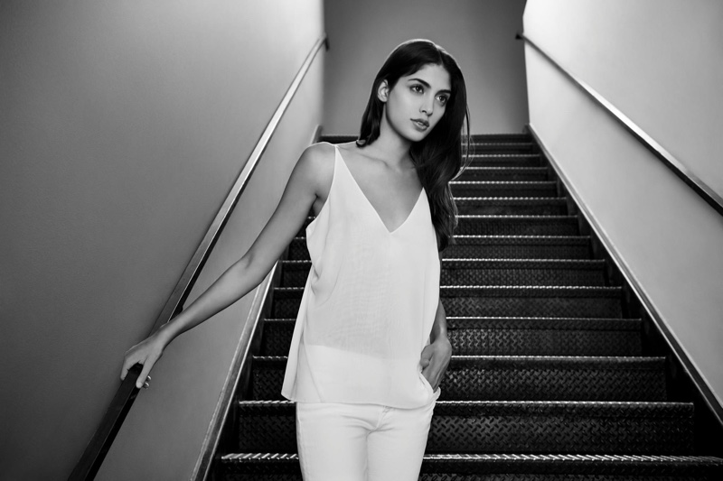 Blanc Slate: J Brand Takes on the White Denim Trend