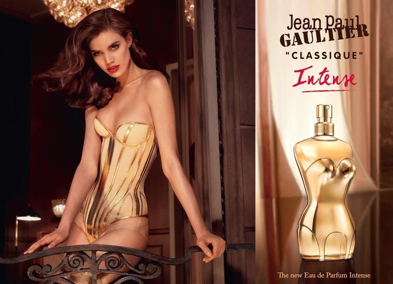 Jean Paul Gaultier Classique Intense Fragrance campaign starring Rianne Ten Haken (2015)