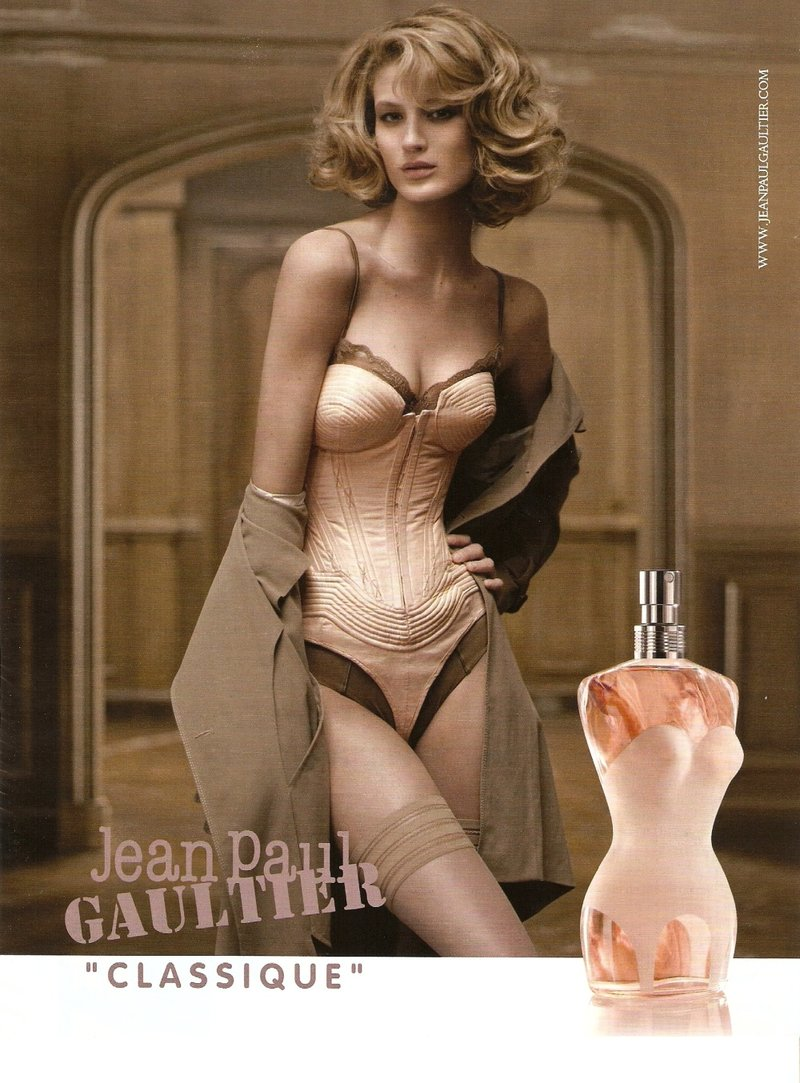 Jean Paul Gaultier Classique  Fragrance campaign starring Michelle Buswell (2009)