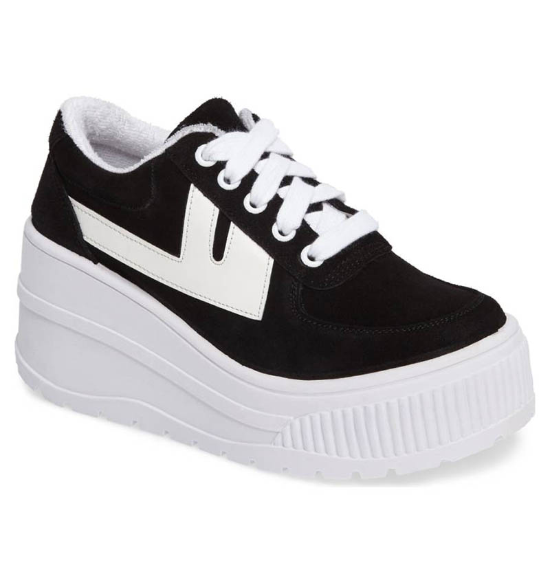 Jeffrey Campbell Twenty One Platform Sneaker $129.95