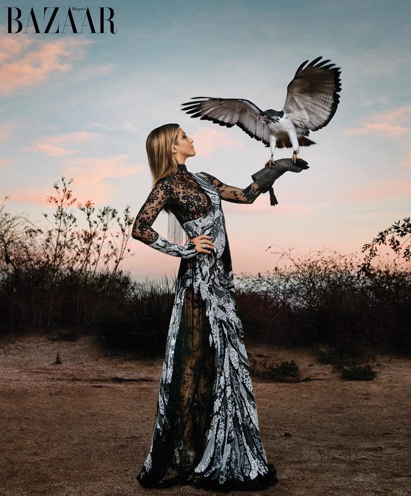 Jennifer Aniston Stars in BAZAAR, Talks Married Life