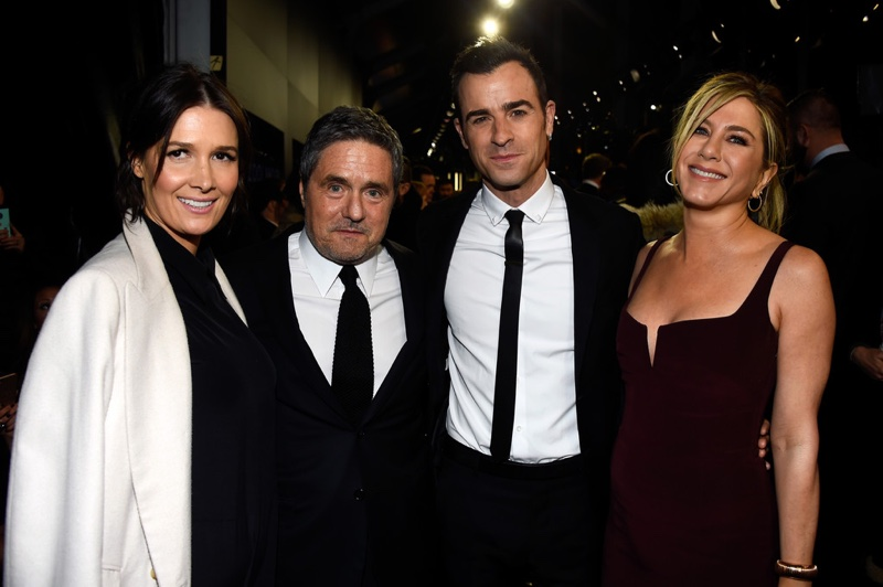 Jennifer Aniston and Justin Theroux attend the New York premiere of Zoolander 2. Photo: Getty Images for Paramount