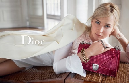 Jennifer Lawrence Looks Super Relaxed in Dior's Spring Handbag Ads