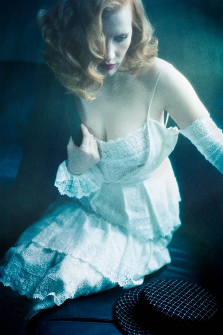 Jessica Chastain Channels Old Hollywood Glamour in Flaunt