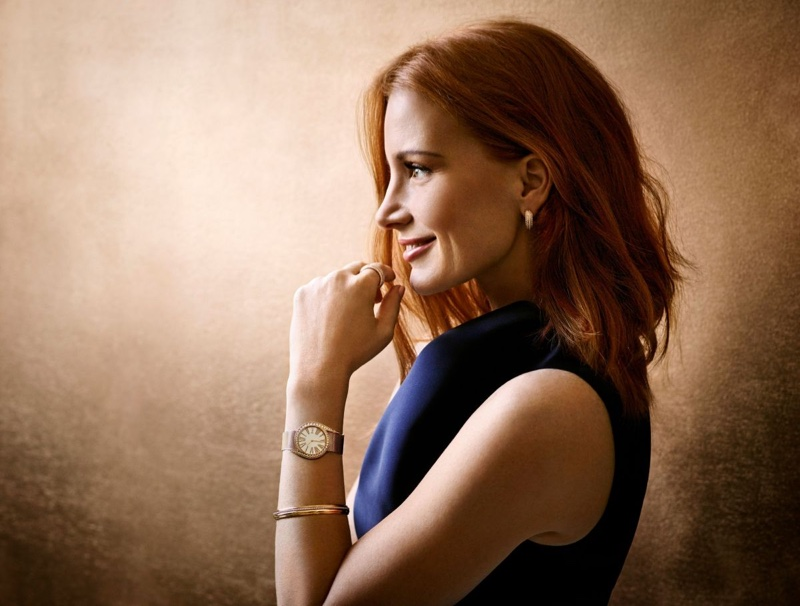 Jessica Chastain stars in Piaget Jewelry 2016 campaign