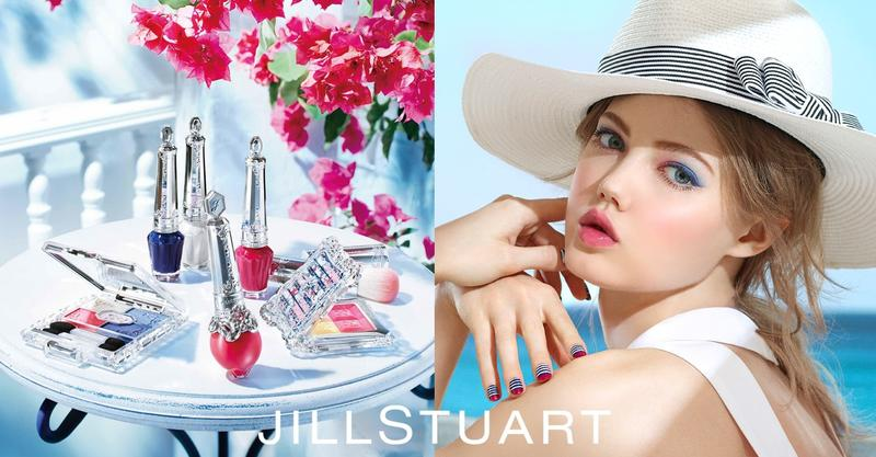 Lindsey Wixson stars in Jill Stuart's summer 2016 beauty campaign