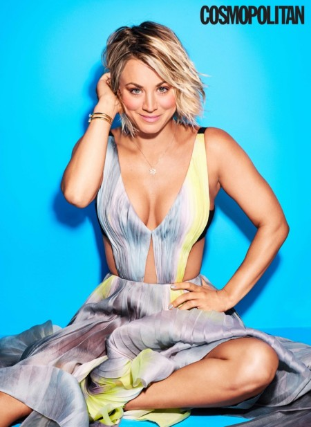 Kaley Cuoco talks to the magazine about her divorce with Ryan Sweeting