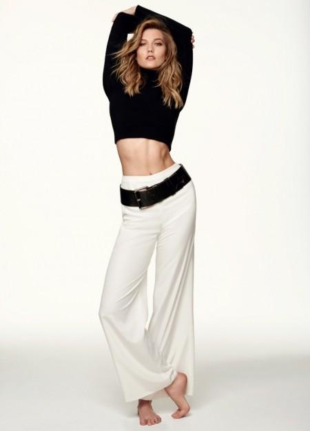 Karlie Kloss Rocks the New Neutrals in ELLE Brazil Cover Story