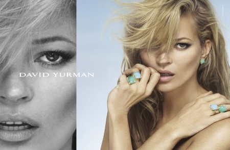 Kate Moss Smolders in David Yurman's Spring 2016 Campaign
