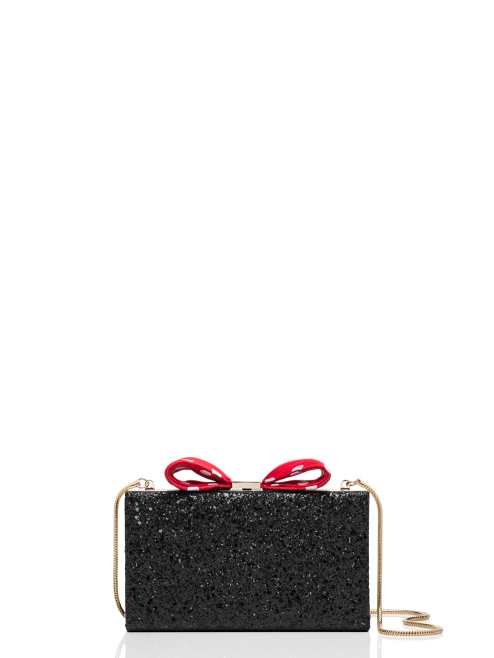 Kate Spade x Minnie Mouse  Clasp Bag with Bow $328