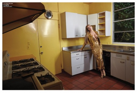 Kate Upton Plays 'Real Housewife' in Glamorous V Magazine Spread