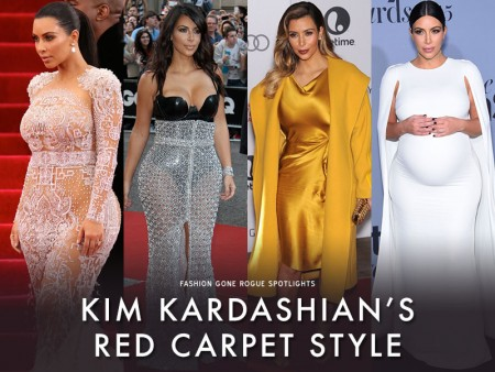 See Kim Kardashian's Style Evolution from Reality Star to Vogue Cover Girl