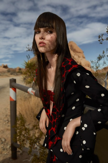 Lily Stewart Models Spring's Standouts for Vogue China by Yelena Yemchuk