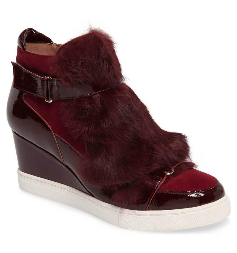 Linea Paolo Frisky Wedge Sneaker $139.95