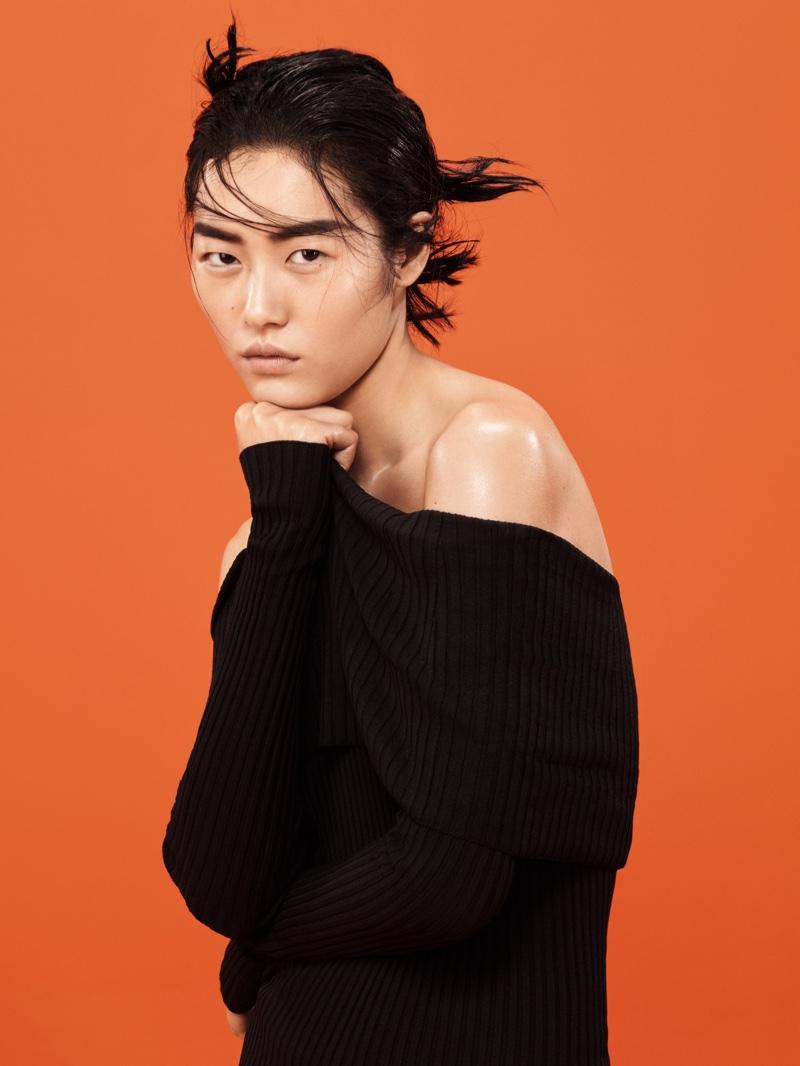 Liu Wen stars in Mango's March 2016 campaign