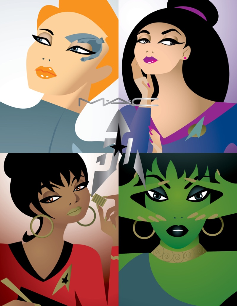 MAC Goes Geek Chic with 'Star Trek' Makeup Collab