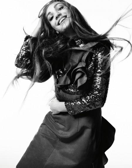Dancer Maddie Ziegler Goes High Fashion for Hunger Magazine
