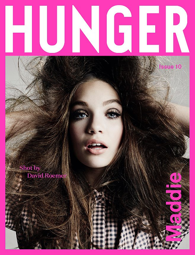 Dancer Maddie Ziegler Goes High Fashion for Hunger Magazine