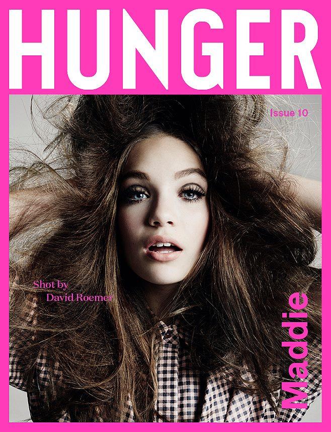 Maddie Ziegler on Hunger Magazine #10 Cover