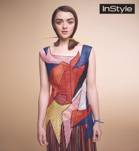 'Game of Thrones' Star Maisie Williams Lands InStyle UK Cover Story
