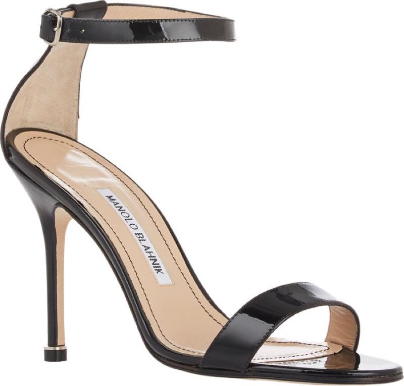 Manolo Blahnik Chaos Ankle Strap Sandals