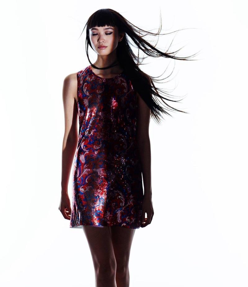 Paco Rabanne Chain-Mail Mini Dress