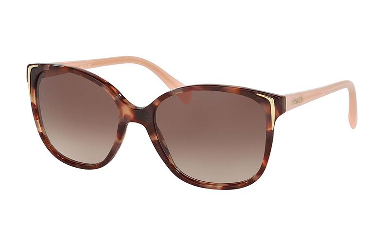 Prada Square Gradient Arrow Edge Sunglasses