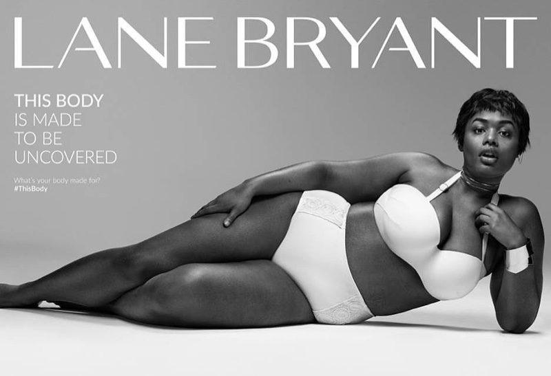 Precious Lee stars in Lane Bryant #ThisBody advertising campaign