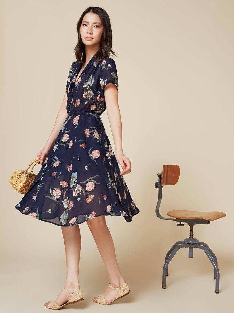 Reformation Welcomes Spring with These Pretty Florals