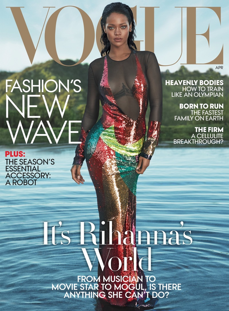Rihanna on VOGUE April 2016 Cover