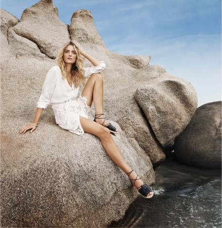 Lily Donaldson Has a Sun-Soaked Holiday in River Island's Spring Campaign