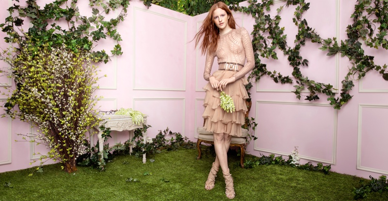 Saks Fifth Avenue Spotlights Spring`s Most Romantic Dresses