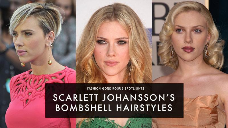 Scarlett Johansson`s Bombshell Hairstyles: See Her Best Hairdos