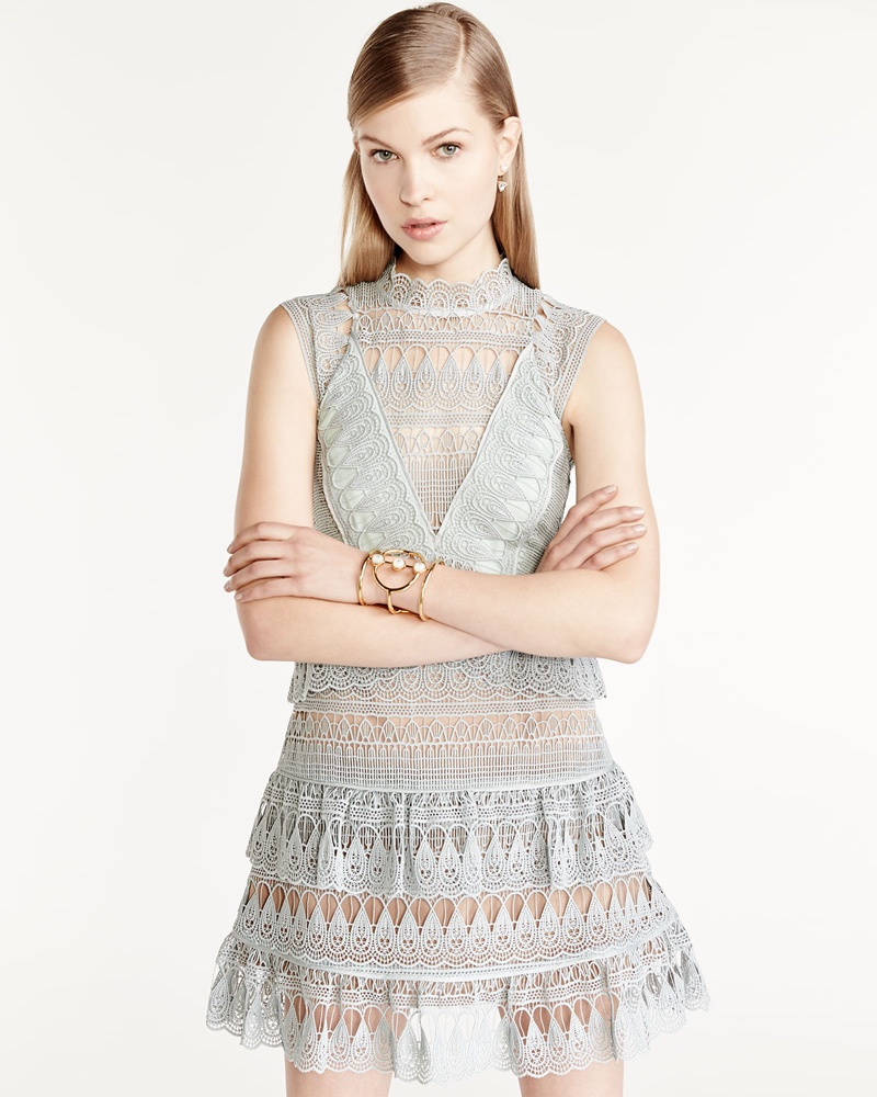 Self Portrait`s Pretty Lace Dresses Are Perfect For Spring
