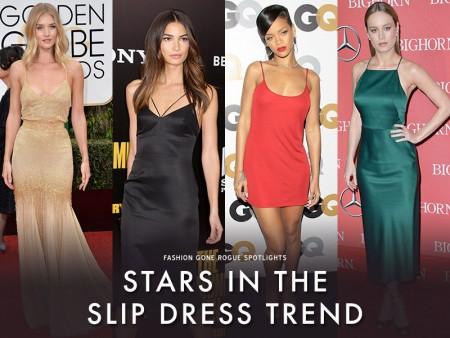 9 Stars Who Will Inspire You to Wear the Slip Dress
