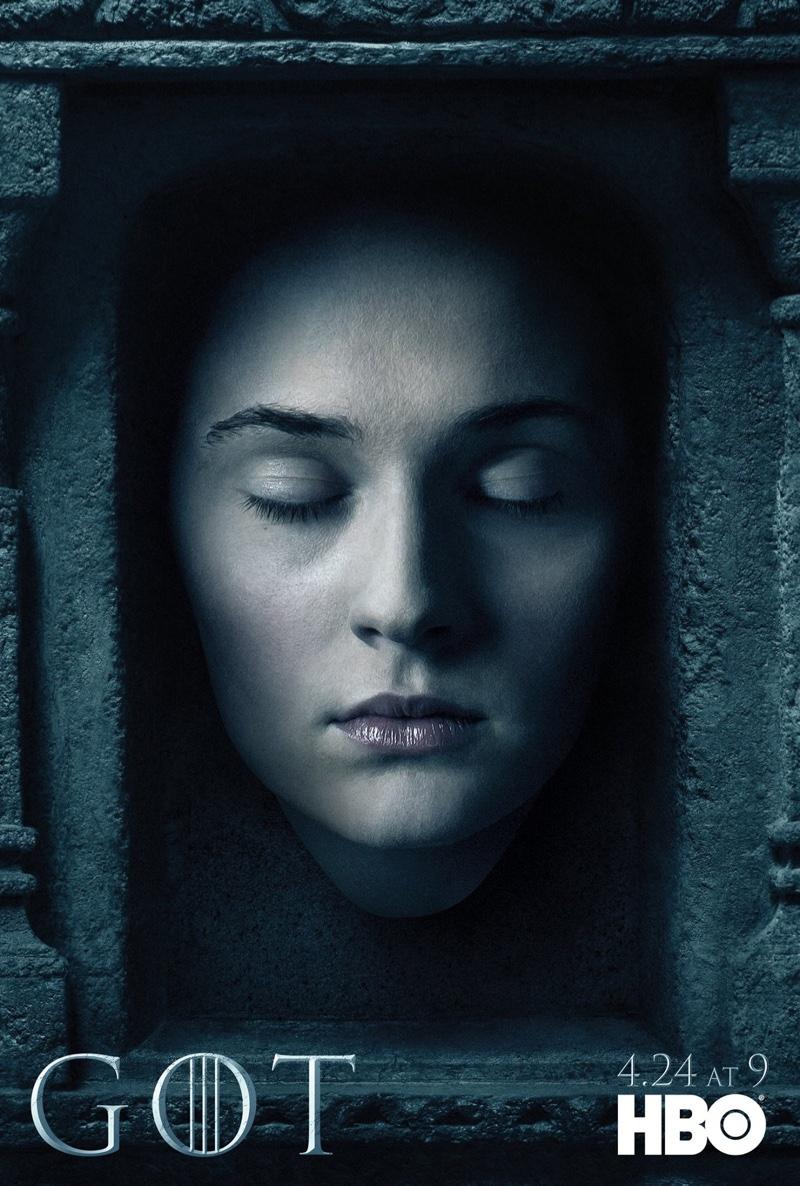 Sophie Turner on Game of Thrones Season 6 character poster
