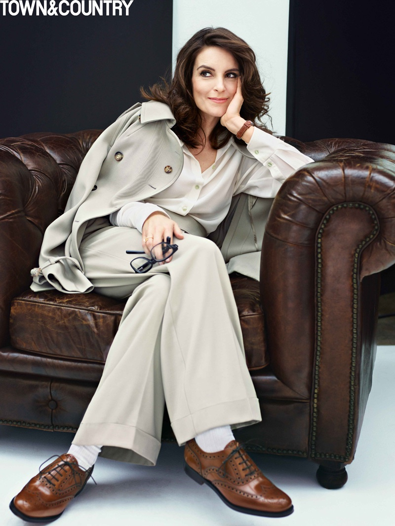 Tina Fey Covers Town & Country, Talks Aging in Hollywood