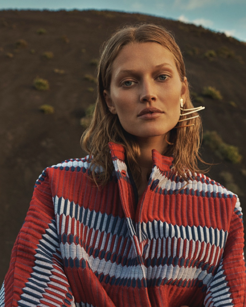 Toni Garrn stars in L'Express Styles' February Issue