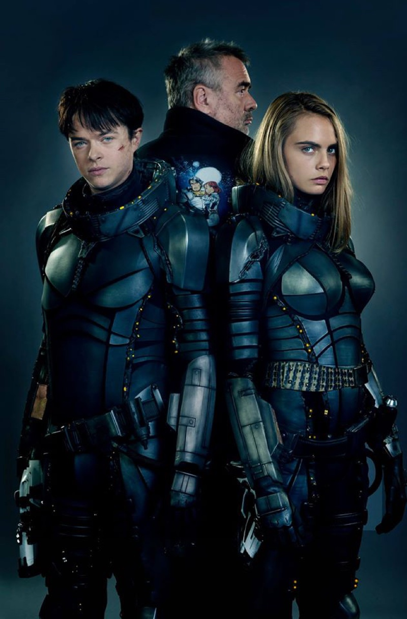 Cara Delevingne Valerian Movie Costume Fashion Gone Rogue