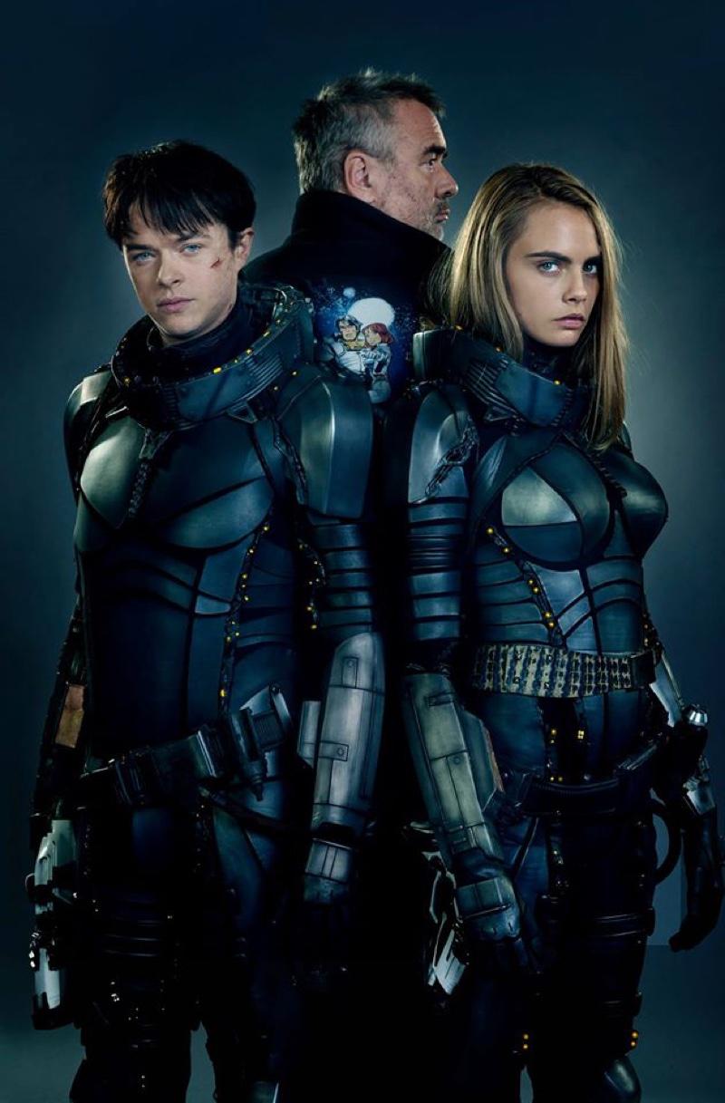 Cara Delevingne Suits Up for Sci-fi Film 'Valerian'