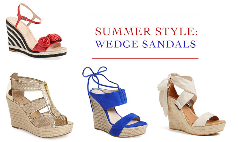 9f11b75359 Shop Wedge Sandals Spring / Summer 2016 | Fashion Gone Rogue