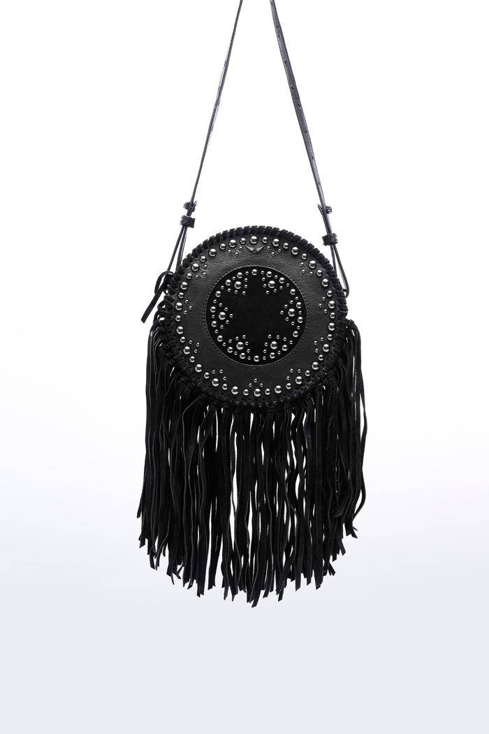 Zadig & Voltaire Bamboo Hippie Fringe Bag