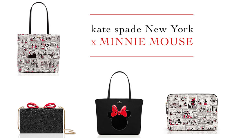 Kate Spade's Minnie Mouse Collection Brings On the Bows & Polka Dots