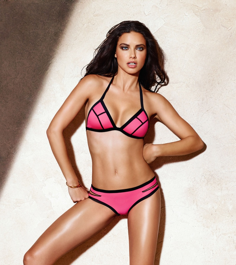 Adriana Lima has been announced as the new face of Calzedonia swimwear