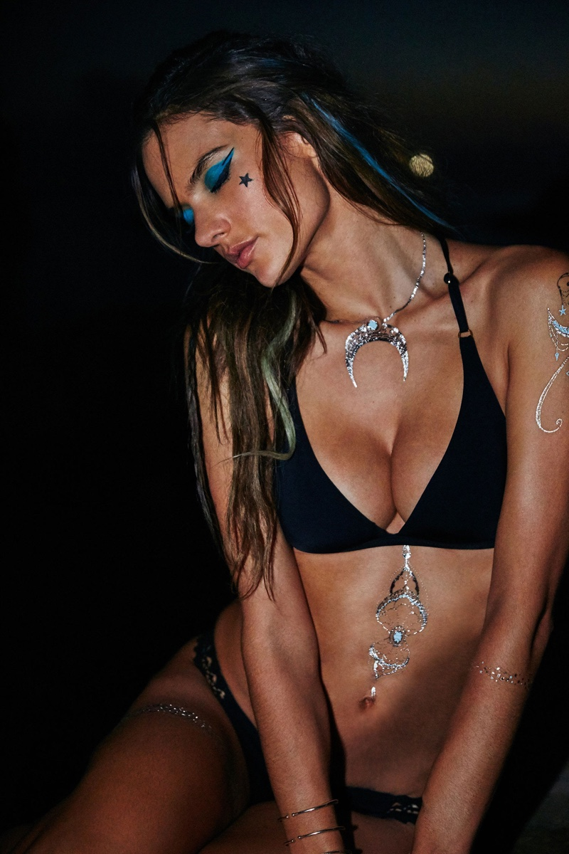 Alessandra Ambrosio launches flash tattoos with her Ale by Alessandra line