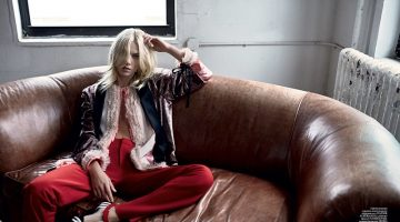 Aline Weber Wears Spring's Standout Jackets for Vogue Ukraine