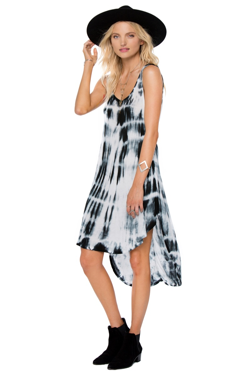 Amuse Society Tula Tie-Dye Dress