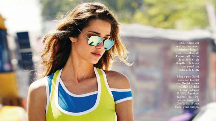 Ana Beatriz Barros Wears Sunny Summer Style for ELLE Spain