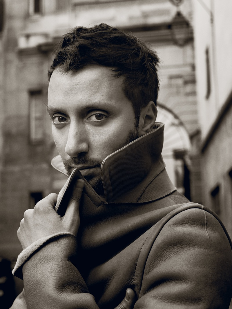 Designer Anthony Vaccarello. Photo: Interview / Robbie Fimmano