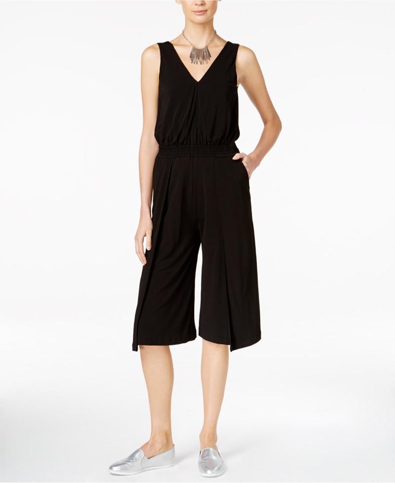 Armani Exchange Culotte Jersey Jumpsuit